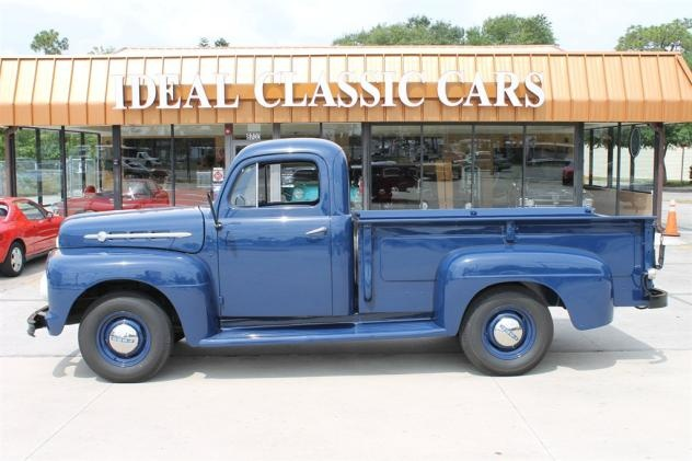1952 ford f2 blue 6 cylinder manual classic trucks sarasota fl on the hunt for my next. Black Bedroom Furniture Sets. Home Design Ideas