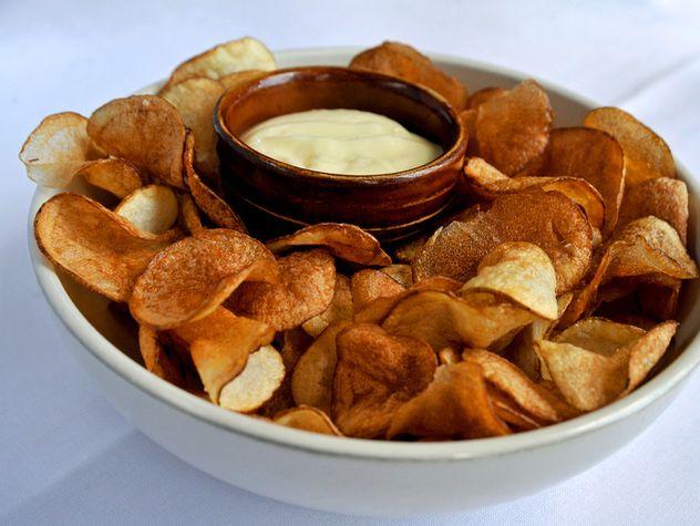 The Most Popular Dishes in Nashville - Nashville Lifestyles Magazine (Dec 13)  Margot Café & Bar Dish: Potato Chips and Aïoli