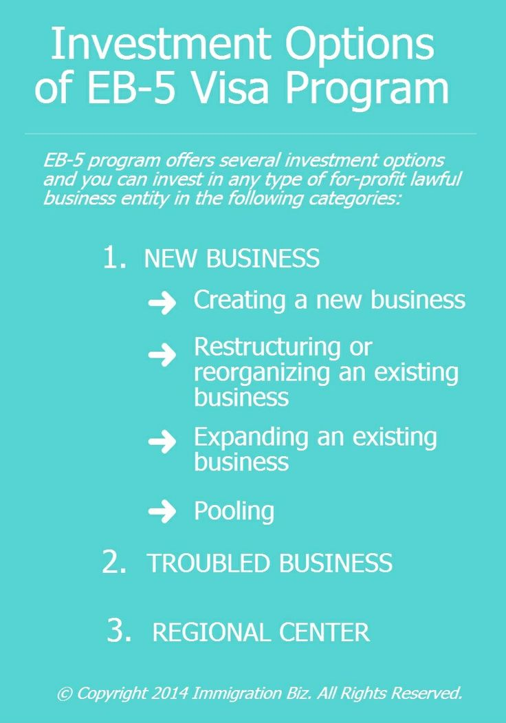 Investment Options of EB-5 Visa Program