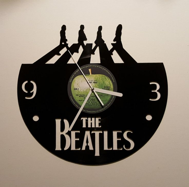 Vinyle horloge Beatles Abbey Road cadeau de par therecordbreakers