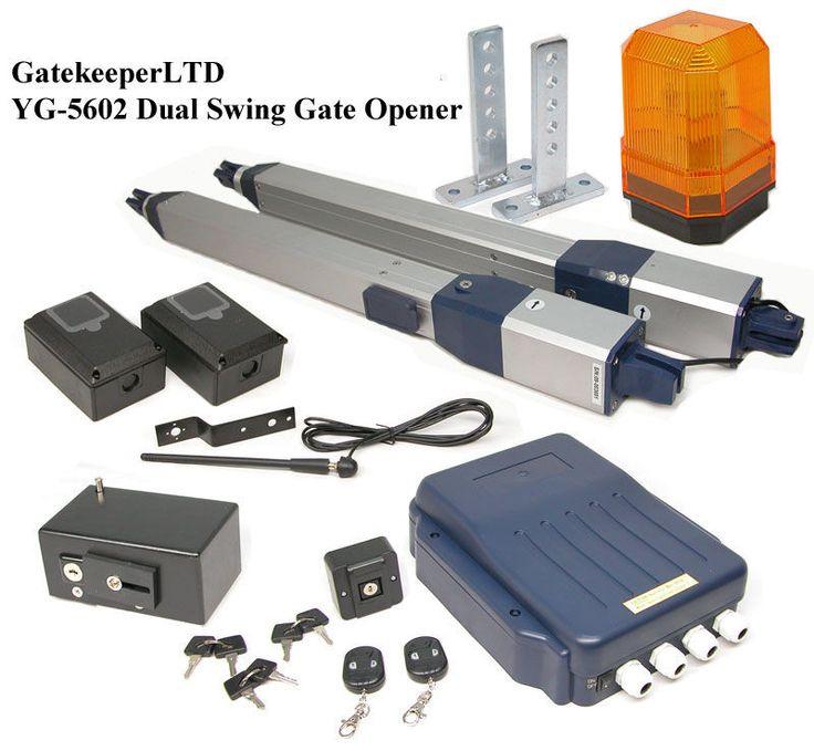 dual swing automatic electric gate opener operator