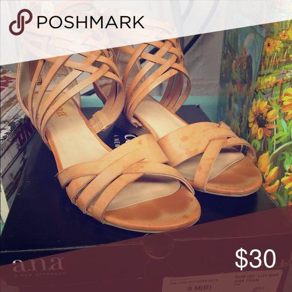 Women's size 8 A.n.a Sandal Ana.. size 8 women's sandal a.n.a Shoes Sandals