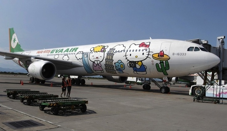 Hello Kitty Airplanes