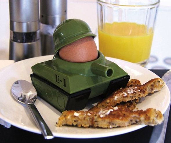 Attack Breakfast With The Eggsplode Egg Cup