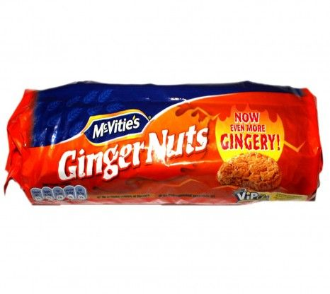 Mcvities Ginger Nuts 250G at Rs.125 online with shipping in India.