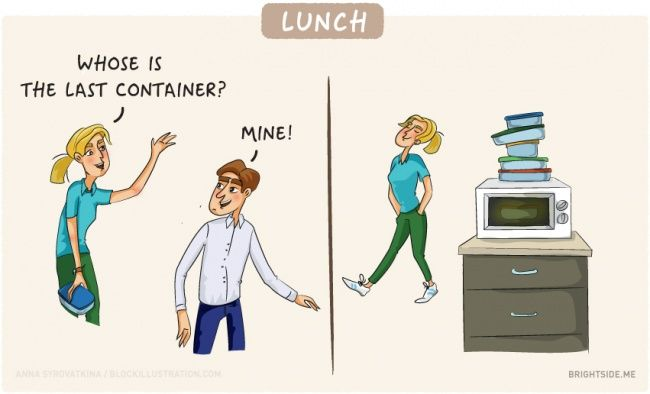 11 illustrations that describe life in the office perfectly