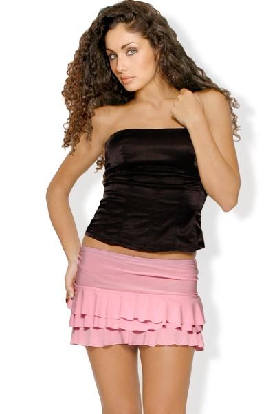 Abbigliamento da Donna  http://www.abbigliamentodadonna.it/minigonna-elasticizzata-p-137.html  Cod.Art.000308 - Minigonna elasticizzata a balze dotata di fascia elastica in vita. Ideale per un look giovane, sbarazzino e trendy. Si abbina molto bene ad un top, t-shirt o maglietta senza maniche.