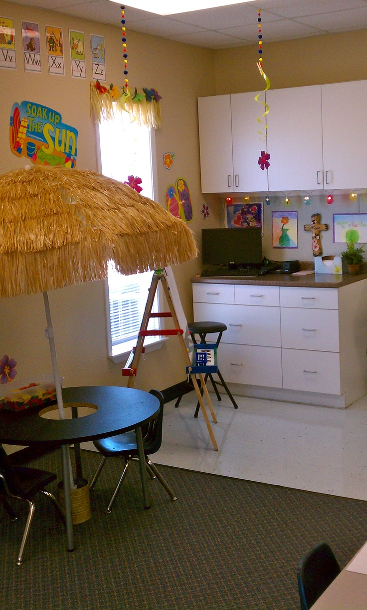 Classroom Beach Decor ~ Best images about hawaiian themed classroom on