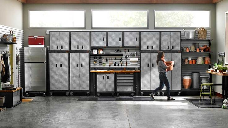Garage - cupboards for our garage, I think my husband would like these ones.***