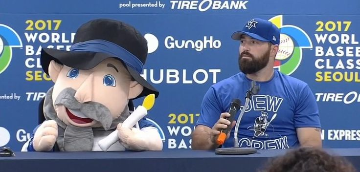 World Baseball Classic Meet Team Israel's Mascot - 'Mensch On A Bench,' Israel's Cuddly World Baseball Classic Mascot