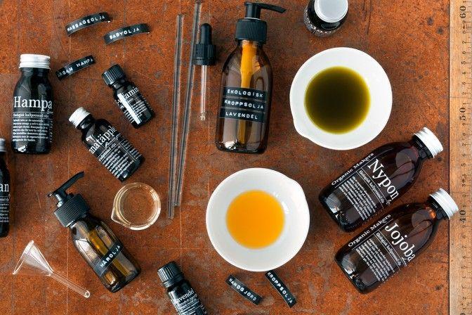 DIY Kroppsolja för torr hud med makadamia, jojoba och nypon. - Organic Makers