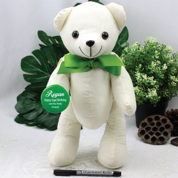 A Signature Bear Is Great Traditional Way To Create Keepsake Of Your Special Day Sure Be Treasured