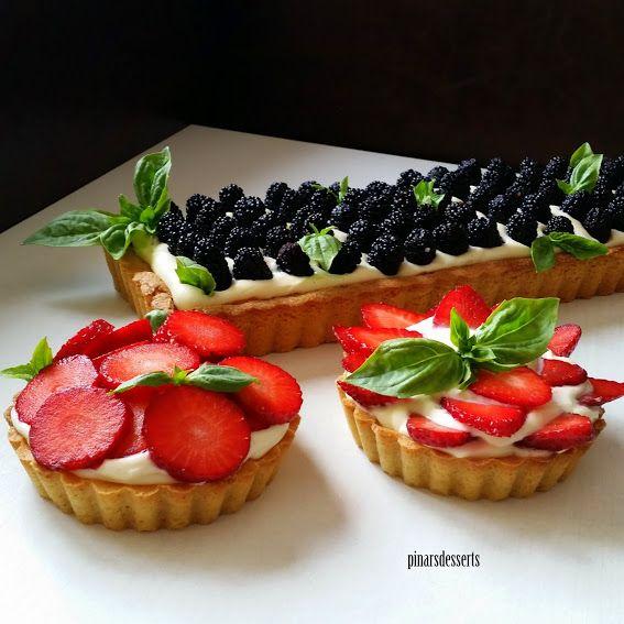 Pınar's Desserts: Taze Meyveli Sable Tart