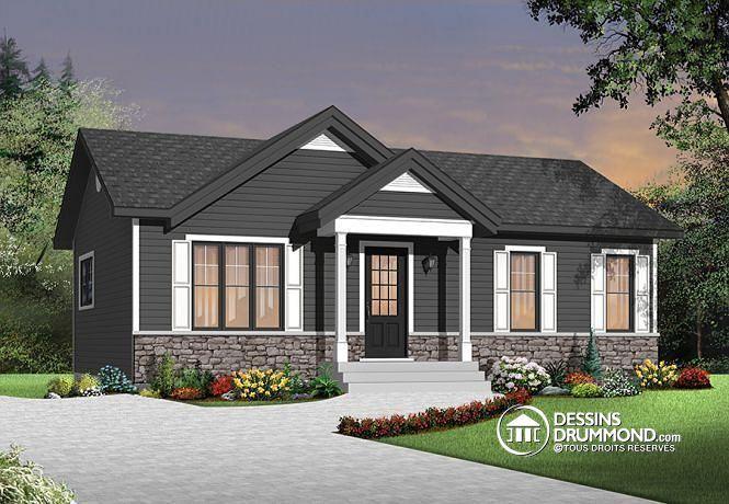 Plan de maison no. W3137 de dessinsdrummond.com