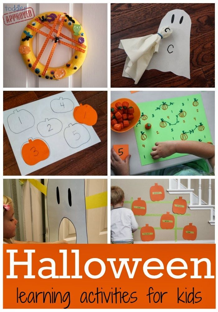 h is for halloween learning activities - Toddler Halloween Craft Ideas