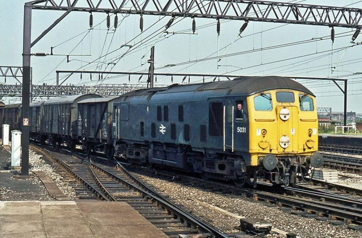 Railway Herald :: Imaging Centre :: 5031 at Crewe
