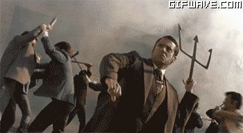 Steve carell anchorman movie fighting screaming gif