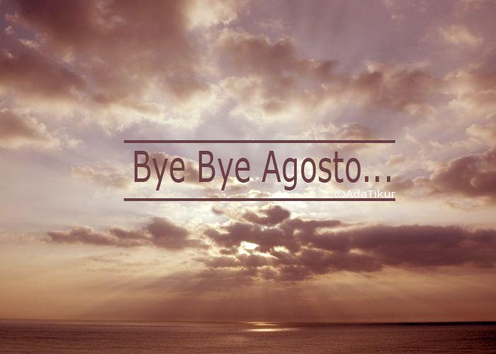 Bye, bye agosto (adatikur.com). Mar y cielo.