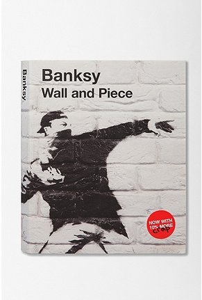 banksy: Worth Reading, Coffee Tables Book, Book Worms, Urban Outfitters, Book Worth, Book Wall, Favorite Magsbook, Memorial Tables Book, Banksy Wall