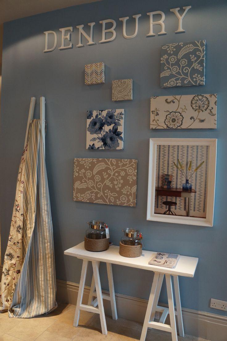 Love The Soft Blue Colour Palette GPJ Bakers Showroom Chelsea Harbour