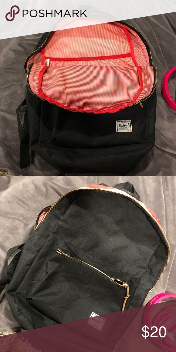 Herschel Black Bookbag Great condition Herschel Supply Company Bags Backpacks