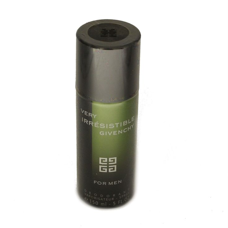 Deodorants and Antiperspirants: Givenchy Very Irresistible For Men Deodorant Vaporisateur Spray 150 Ml New -> BUY IT NOW ONLY: $59.5 on eBay!