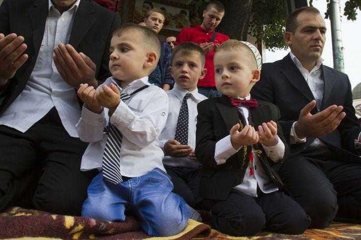Muslim Eid prayer
