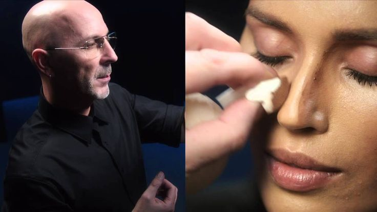 """""""Placement is pretty much everything."""" Director of Makeup Artistry Terry Barber creates a natural lift to the face with simple and effective shading and highlights."""