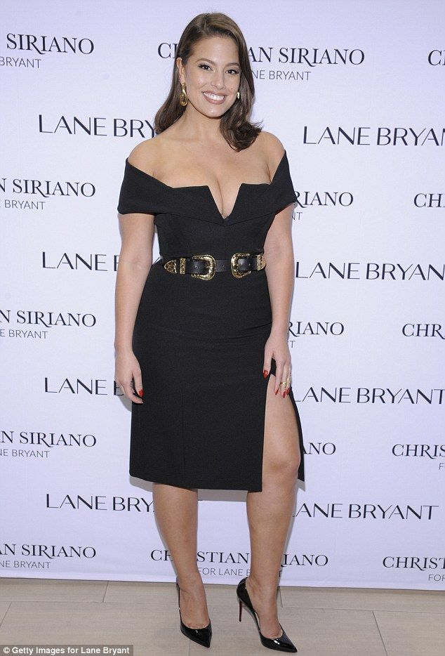 Passion for fashion: Ashley Graham attended the Christian Siriano x Lane Bryant New York Fashion Week event in Manhattan on Tuesday night