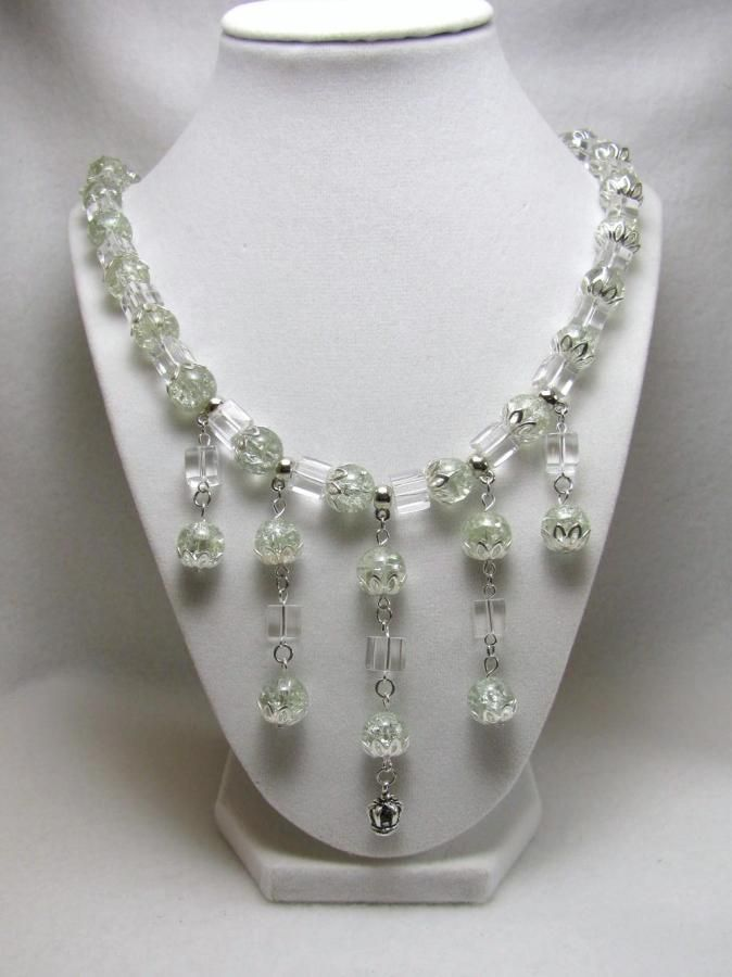 Ice Queen - Jewelry creation by Linda Foust
