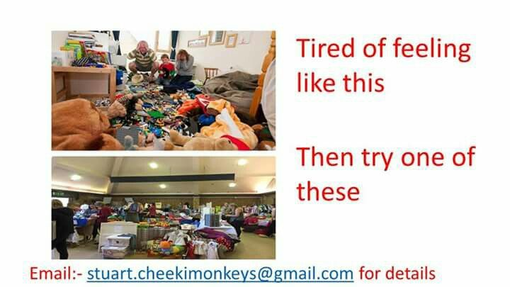 Need a clear out then email stuart.cheekimonkeys@gmail.com for details
