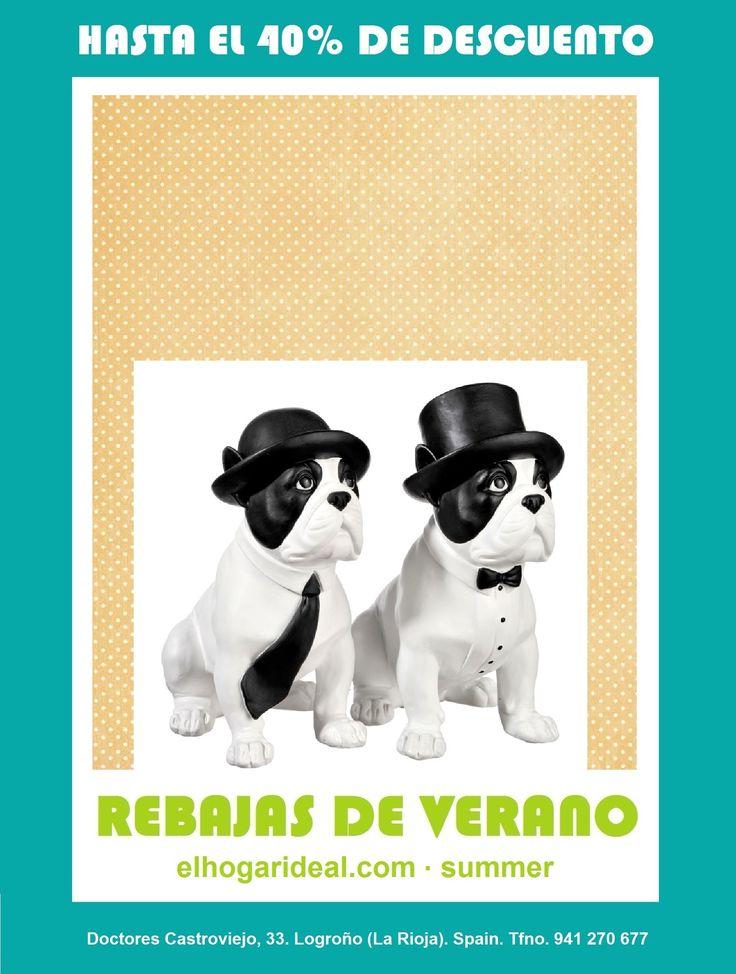 Decoracion online, el hogar ideal, rebajas 41 bulldog moustache, coleccion bigotes. elhogarideal.com