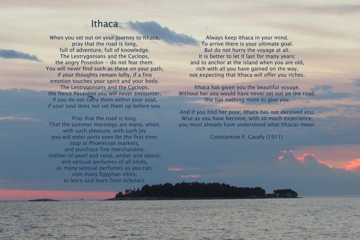 Ithaca - Constantine  P. Cavafy