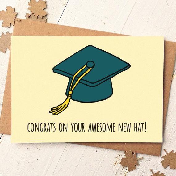 Graduation Card Funny Graduation Card Congrats Card Etsy Funny Graduation Cards Congrats Card Graduation Funny