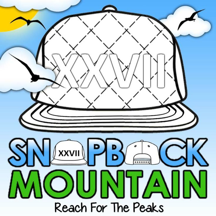 Digital image created for Snapback Mountain
