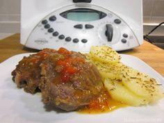 Atrévete a preparar la carrillera o carrillada en salsa con tu Thermomix y volverás a repetir! El resultado es insuperable!
