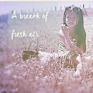 --a breath of fresh air