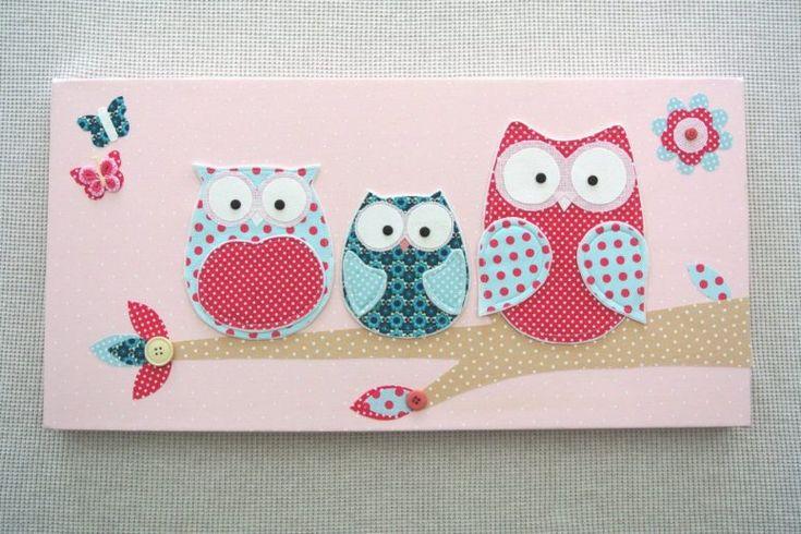 Kids Bedroom:Kids Owl Bedroom Decor Baby Girl Room Owl Canvas Decor Wall Decal Kids Bedroom Dma Intended For Kids Owl Bedroom Decor