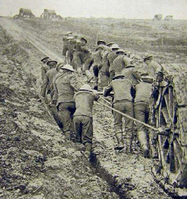 Quagmire World War One - Mud on the Somme. Men actually drowned in the mud at…