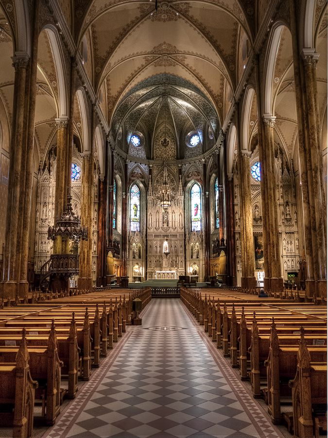 Saint Patrick's Basilica, Montreal, Canada