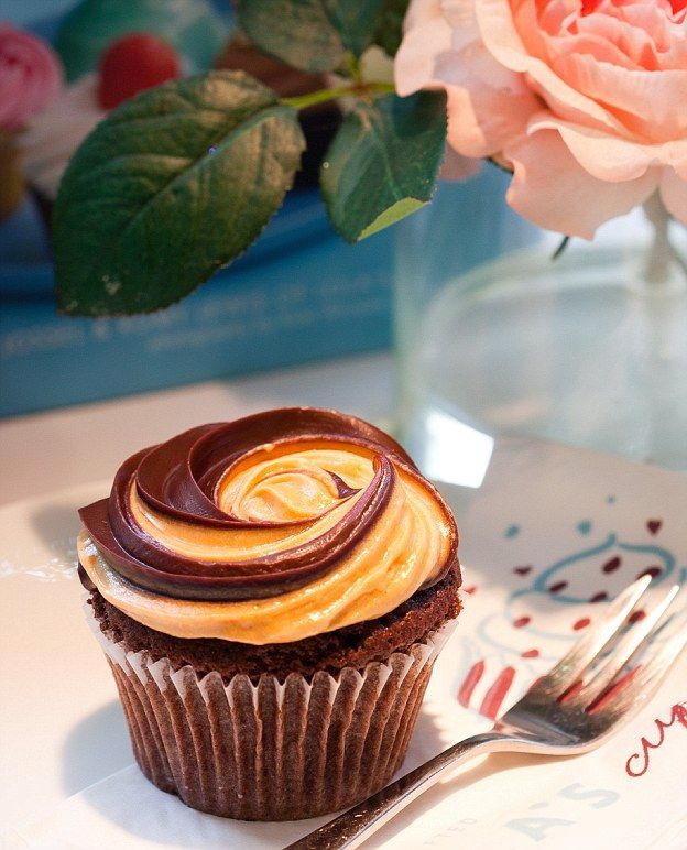 Love it or hate it: This cupcake is made with yeast extract Marmite, chocolate and caramel