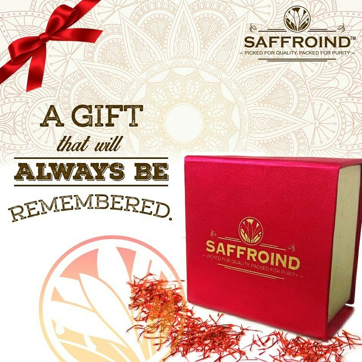 A gift that will always be remembered. Saffroind Gift Packs - Designed and created to make your occasion more special. Order online today: http://www.saffroind.com/product/gift-saffron/ #saffron #kesar #royal #getitonline #OrderOnline #doorstepsurprise #onlinestore #onlineshopping #buyonline #buyonlinenow #saffronthreads #spice #spiceworld #spiceforlife #perfectflavor #homedelivered #giftpacks #surprisegift #bestgiftever #bestgift