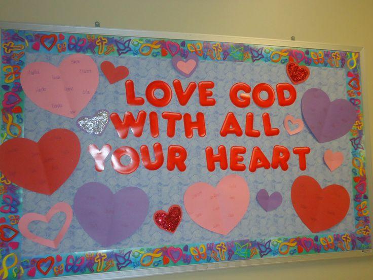 Christian Bulletin Board Ideas February Agcrewall
