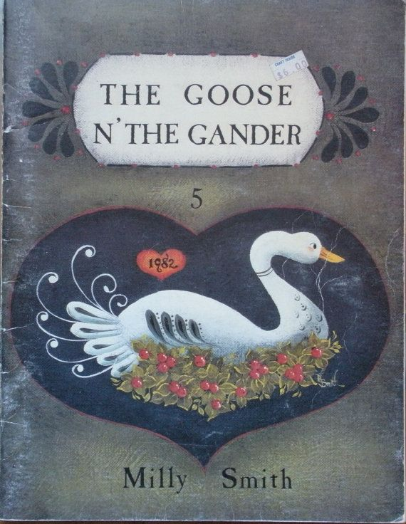 milly smith the goose n the gander 5 tole painting book country prim folk tole painting. Black Bedroom Furniture Sets. Home Design Ideas