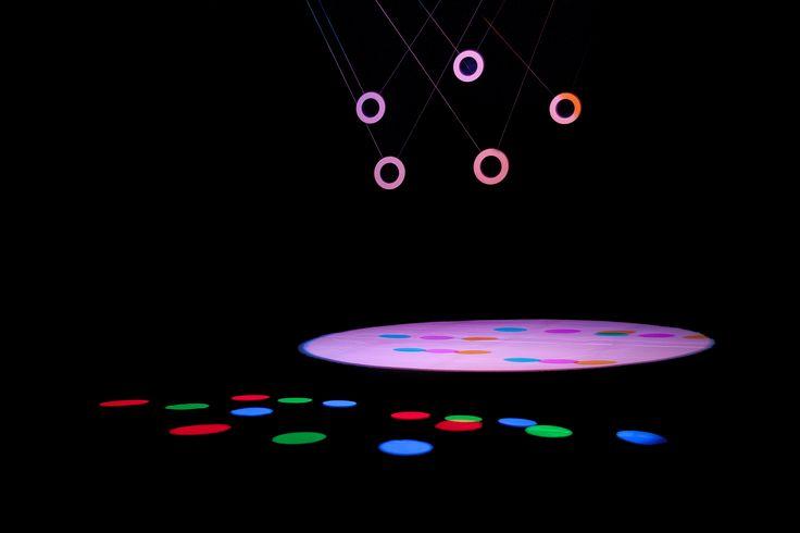 La monumental instalación audiovisual: RGB|CMY Kinetic, creada por el estudio alemán ART+COM, en SonarPLANTA 2015.