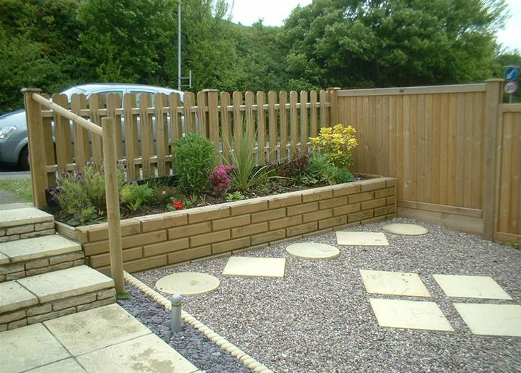 Small Garden Fence Ideas post and wire garden fence Front Garden Fence And The Use Of Jakwall Httpwwwjacksons