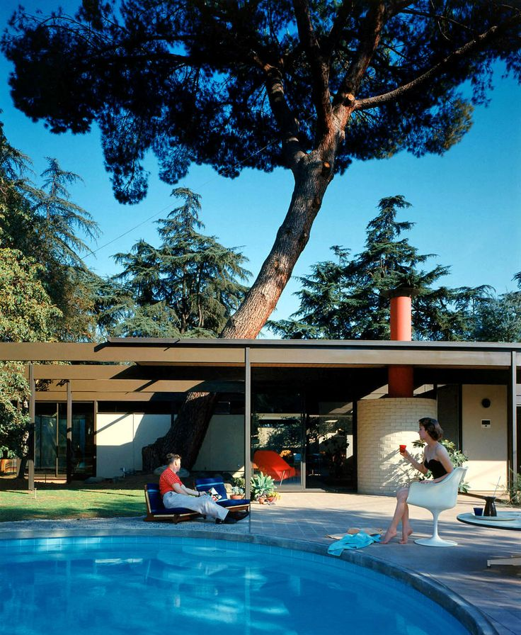 Saul Bass residence, Altadena, CA #casestudyhouseMid Century Modern, Study House, Saul Bass, Cases Study, Dreams House, Julius Shulman, Architecture, Pools Parties, Midcentury