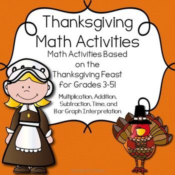 thanksgiving math projects Thanksgiving dinner digits: a thanksgiving math project thanksgiving will be here before you you know it, and this 8-page thanksgiving math project is just what you.