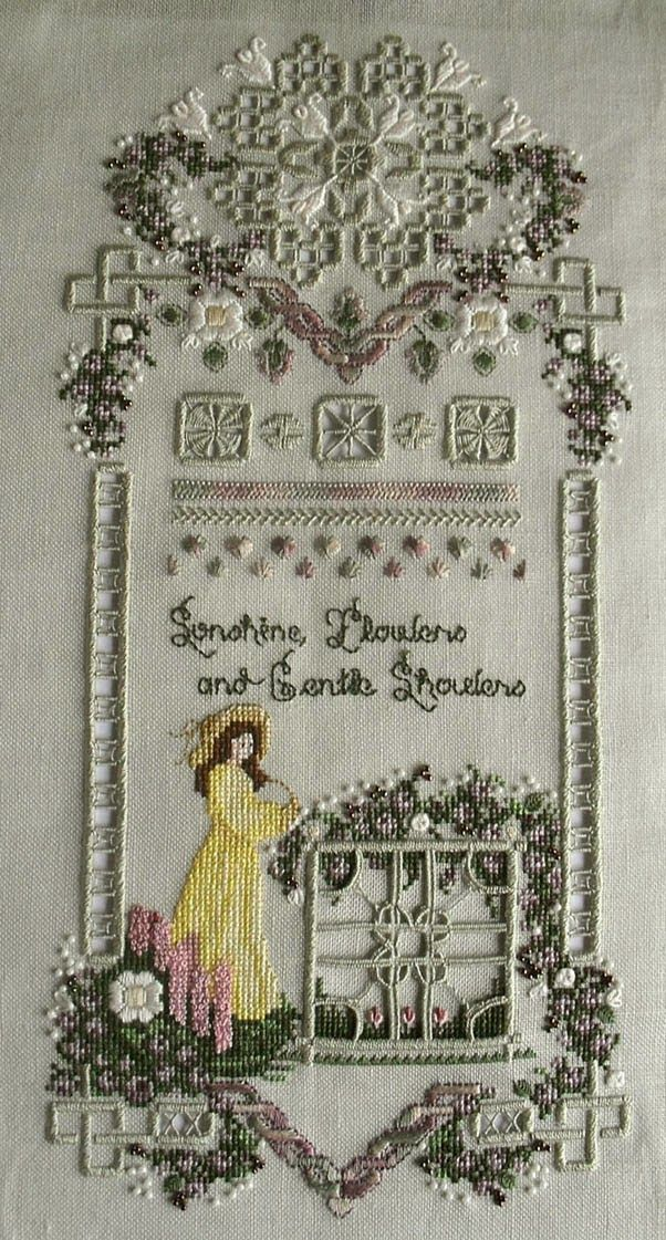 'Sunshine and Flowers', designed by Cross'N'Patch