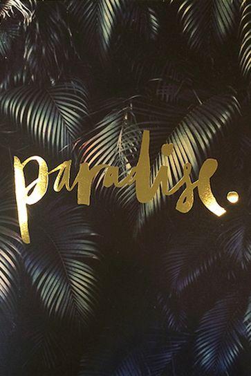 Blacklist Studio Palm Print. Island Style.